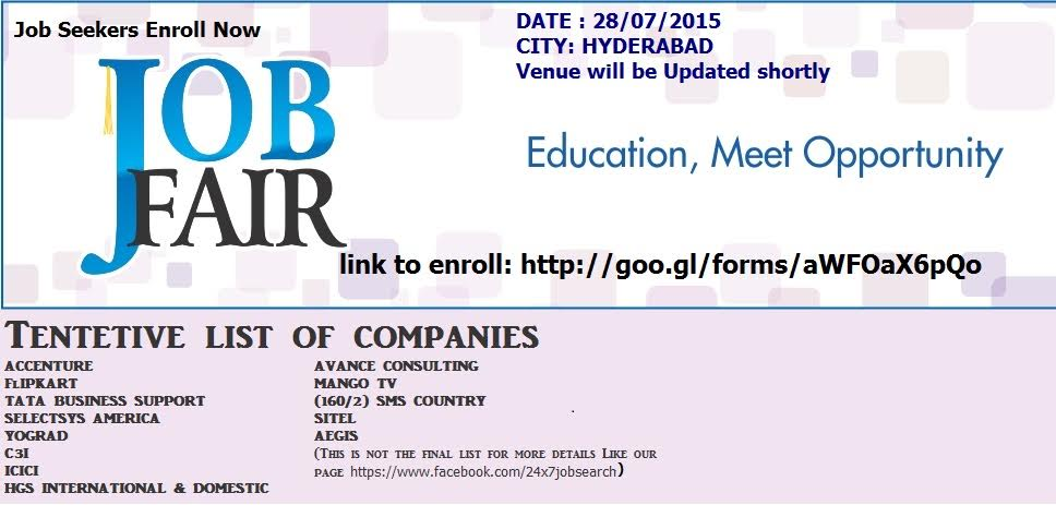 Placement Drive at Hyderabad